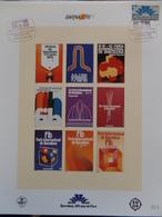 Barnafil 88 Els Cartells De Cent Anys De Fires 1888 - 1988 - Sellos