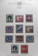 Colección Collection Naciones Unidas 1951 - 1999 MNH - Sellos