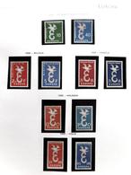 Collección Collection Tema Europa 1958 - 1984 MNH 3890€ - Sellos
