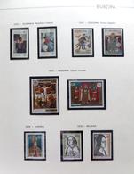 Colección Collection Tema Europa 1975 - 1992  MNH - Sellos