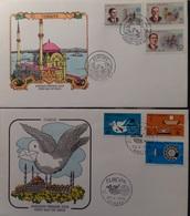 Coleccion Collection Tema Europa SPD Sobres Primer Día 1965 1966 - Sellos