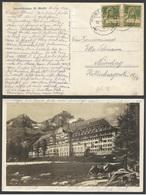 Suiza Postal De Saint Moritz A Nuremberg 1924 - Sin Clasificación