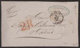 Francia Frontal De Oloron A Madrid 1852 - Postales