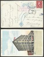 Estados Unidos Postal De Jacksonville A Nuremberg 1926 - Sin Clasificación