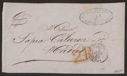 Francia Frontal De Oloron A Madrid 1852 - Sin Clasificación