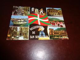 B745  San Sebastian Spagna Viaggiata - Spagna