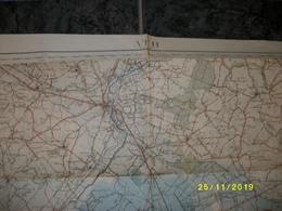 Carte Topographique De Ath (Ogy - Lessines - Wodecq - Silly - Soignies - Brugelette - Moulbaix) - Cartes Topographiques