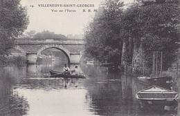 VILLENEUVE SAINT-GEORGES - Vue Sur L'Yerres - Villeneuve Saint Georges
