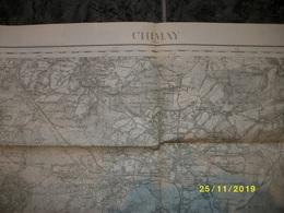 Carte Topographique De Chimay (Sivry - Renlies - Senzeille - Frasnes - Lompret - Momignies) - Cartes Topographiques