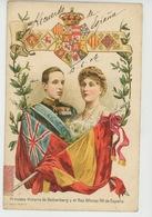 ESPAGNE - ROYAL FAMILY - Princesa VICTORIA DE BATTENBERG Y El REY ALFONSO XIII De Espana - Autres