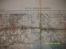 Carte Topographique De Cul-Des-Sarts (Anor - Scourmont - Bruly - Rocroi - Martigny - Macquenoise) - Cartes Topographiques