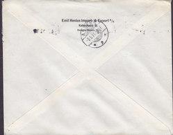 Denmark EMIL HENIUS Imprt- & Export Bernstorffsgade 21, KØBENHAVN B. Tms. Cds. 1916 Cover Brief ASSENS (Arr.) - 1913-47 (Christian X)