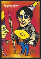 CPM Sucre Satirique Caricature Algérie Jacques LEBAUDY Empereur Du Sahara Sugar Non Circulé SEM - Satirical