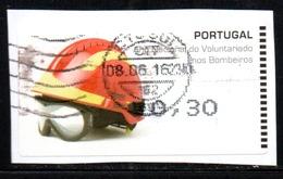Portugal 2008 ATM-FRAMA - Bombeiros Voluntarios - 0.30 € - ATM/Frama Labels