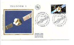 FDC 1984 SATELLITE TELECOM 1 - FDC