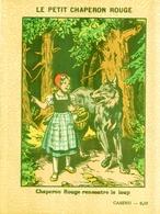 BEAU Protège Cahier Publicitaire Ancien CASINO LE PETIT CHAPERON ROUGE 1 - Book Covers