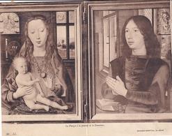 Bruges Hopital St Jean La Vierge à La Pomme Et Le Donateur  (carte à 2 Volets - Brugge
