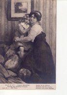 CPA  SALON 1911 - DIVERS 28 -  GASTON BALANDE - ANDRE ET SA MAMAN - - Peintures & Tableaux
