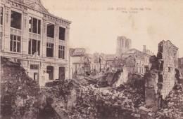 51  REIMS. GUERRE 14-18 .CPA. ECOLE DES ARTS APRES BOMBARDEMENT - War 1914-18