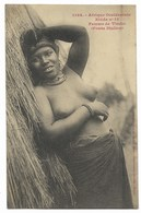 Femme De TIMBO Seins Nus (Fouta Djallon)... Etude 13 - Guinea Francesa
