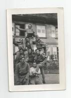 Photographie Fraize 88 Vosges Caserne Du 158 Ri  Photo 9,5x6,5 Cm Env - Guerre, Militaire