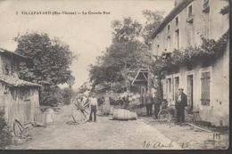 """VILLEFAVARD """"87"""" __  LA GRANDE RUE - France"""