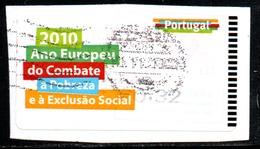 Portugal 2010 ATM-FRAMA - Ano Europeu De Combate ... - 0.32 € - ATM/Frama Labels