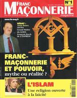 FRANC-MAÇONNERIE MAGAZINE - Lot De 60 Revues Du N° 1 à 60 - Books, Magazines, Comics