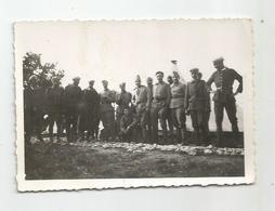 Photographie 25 - Le Valdahon Le 9e Rtm Régiment Tirailleur Marocain 1937 Photo 8,5x6, Cm Env - Guerra, Militari