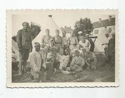 Photographie 25 - Le Valdahon Le 9e Rtm Régiment Tirailleur Marocain 1937 Photo 8,5x6, Cm Env - Guerre, Militaire
