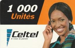 Malawi - Celtel - Woman 1000un. - Malawi