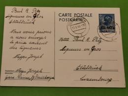 Carte Postale, Dudelange Envoyé à Ettelbruck - Errors & Oddities