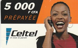 Malawi - Celtel - Woman 5000 F CFA - Malawi