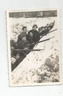 Photographie Guerre 1940 Tranchée 21 Bca Gambsheim Alsace 67 Bas Rhin - Photo 8,8x6, Cm Env - War, Military