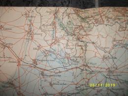 Carte Topographique De Roisin (Valenciennes - Autreppe - Agis - Blaugy Havay - Maubeuge) - Cartes Topographiques