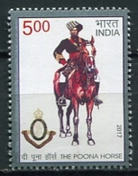 INDIA 2017 / The Poona Horse MNH Caballo Säugetiere / Cu14208  41-4 - Sellos