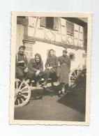 Photographie Guerre 1940  21 Bca Gambsheim ? Alsace 67 Bas Rhin - Photo 8,8x6, Cm Env - War, Military