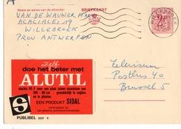 Publibel - 2237  V - Alutil - Sidal - Willebroeck. - Publibels