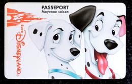 EURO DISNEYLAND - Moyen Saison Les 101 DALMATIENS - PONGO Et PERDITA - Disney