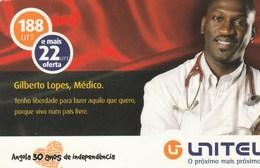 Angola - Unitel - Gilberto Lopes - Angola
