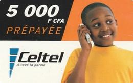 Burkina Faso - Celtel - Boy 5000 F CFA - Burkina Faso