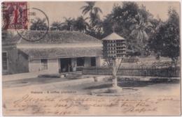 1902-FDC-32 CUBA REPUBLICA 1902 FDC 7 OCT POSTCARD INDIAN FOUNT FIRST REPUBLIC STAMP. - Kuba