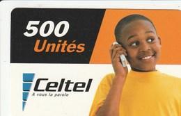 DR Congo - Celtel - Boy 500 Un. - Congo