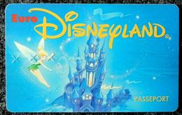 EURO DISNEYLAND  Fée Clochette (Peter Pan) 1 Adulte + 2 Enfants - Disney
