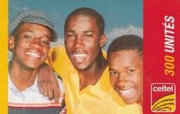 DR Congo - Celtel - 3 Boys 300 Un. - Congo
