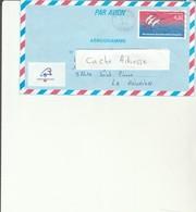 L 1 - Aérogramme  Avec Cachet METZ ARMEES  à Destination De La Réunion ST PIERRE - Entiers Postaux