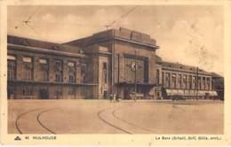 GARES Sans TRAIN - 68 -  MULHOUSE : La GARE ( SNCF ) - Pas De Calais - Stations - Zonder Treinen