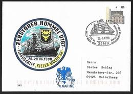 1998 - DEUTSCHLAND - Cover [Ganzsache] + Michel 1935A [Bellevue] + KIEL - [7] Federal Republic