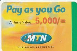 Uganda - MTN - Pay As You Go 5 000 - Uganda