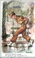 """Illustrateur (???) : """"Caporal Depuis Hier... Les Galons...ça S'arrose !!!"""" - Illustrateurs & Photographes"""